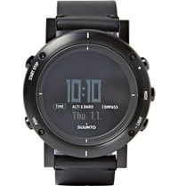 Suunto Essential Stainless Steel Digital Watch Black