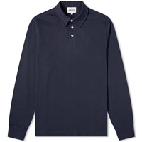 Norse Projects Long Sleeve Ruben Polo Blue