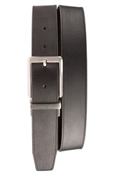 Nike 'Core' Reversible Leather Belt Black Brown