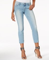 Guess Cropped Skinny Berry Bliss Blue Wash Jeans Berry Bliss Wash