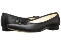 Anne Klein Ovi Black Leather Women's Flat Shoes