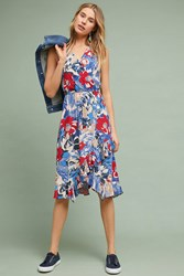 Plenty By Tracy Reese Daphne Wrap Dress Red Motif