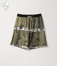 Vivienne Westwood Sweat Shorts Chinese Drawing Print