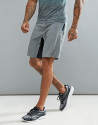 Saucony Running Runlife Stretch Woven Shorts In Black Grey