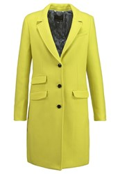 Banana Republic Classic Coat Citron Green Light Green