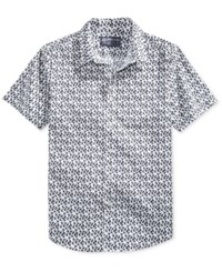 American Rag Men's Bird Shirt Only At Macy's Bright White