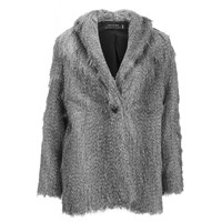 Religion Women's Ecstacy Fur Jacket Grey