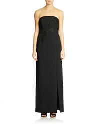 Patra Strapless Gown Black