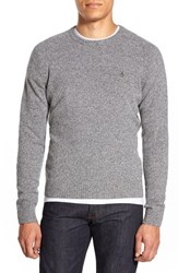 Men's Original Penguin Heritage Slim Fit Lambswool Crewneck Sweater Griffin
