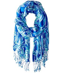 Lilly Pulitzer The Lilly Scarf Blue Crush Bamboom Scarves