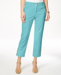 Charter Club Tummy Control Capri Pants Only At Macy's Angel Blue