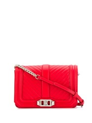 Rebecca Minkoff Small Nappa Crossbody Bag Red
