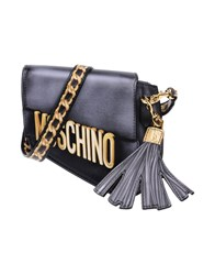 Moschino Handbags Steel Grey