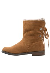 Anna Field Laceup Boots Brown Light Brown