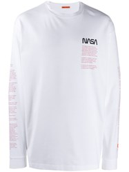 Heron Preston Nasa T Shirt White