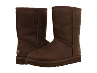 Ugg Classic Short Leather Brownstone Women's Cold Weather Boots