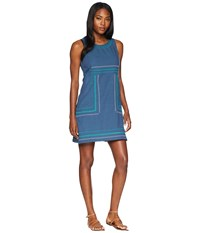 Aventura Clothing Haskell Dress Blue Indigo