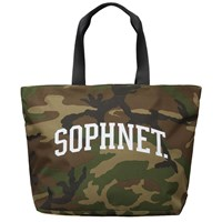 Sophnet. Arch Logo Tote Green
