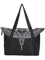 Marcelo Burlon County Of Milan Asier Shopping Bag Black