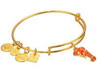 Alex And Ani Charity By Design Lobster Bangle Yellow Gold Bracelet