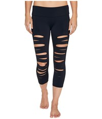 Onzie Shred Capris Black Women's Workout
