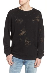 Eleven Paris Elevenparis Santa Fleece Sweatshirt Black