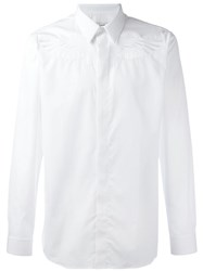 Givenchy Wing Embroidered Shirt White