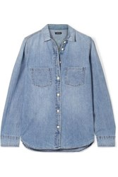 J.Crew Everyday Cotton Chambray Shirt Blue