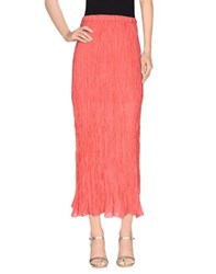 Pennyblack Skirts Long Skirts Women Coral