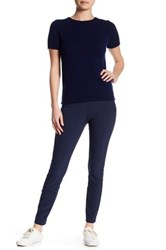 Theory 'Navalane Becker' Stretch Ponte Skinny Pant Blue