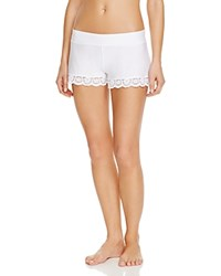 Commando Butter Lace Tap Shorts White