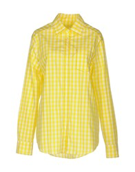Just In Case Shirts Yellow