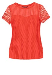 Dorothy Perkins Print Tshirt Orange