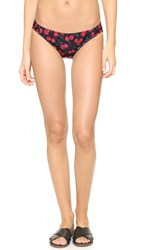 Beth Richards Naomi Bikini Bottoms Black Cherry