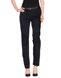 Kayla Casual Pants Dark Blue