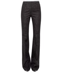 Akris Farrah Stretch Denim Pants Black Blk Denim