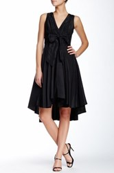 Eva Franco Libby Hi Lo Dress Black