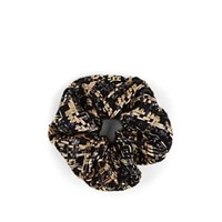 Eugenia Kim Mallory Tweed Scrunchie Gold