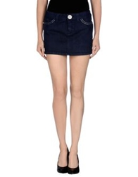S.O.S By Orza Studio Denim Skirts Blue