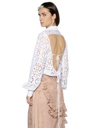 N 21 Open Back Lace Shirt