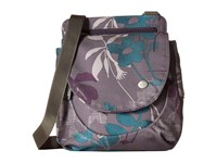 Haiku Swift Grab Bag Flower Fall Print Handbags Purple