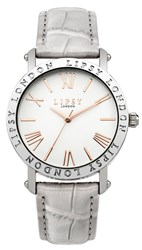 Lipsy Ladies Grey Strap Watch Grey