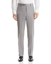Bloomingdale's The Men's Store At Classic Fit Solid Dress Pants 100 Exclusive Gray