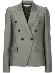 Stella Mccartney Robin Tweed Blazer Grey