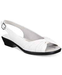 Easy Street Shoes Fantasia Sandals Women's White
