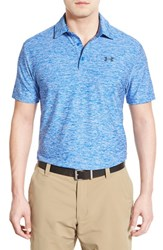Men's Under Armour 'Playoff' Short Sleeve Polo Ultra Blue