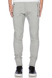 The Kooples Classic Fleece Sweatpant Gray