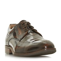 Howick Pelican Punched Apron Gibson Shoes Tan