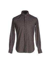 Borsa Shirts Shirts Men Cocoa