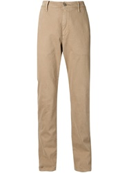 7 For All Mankind 'The Chino' Trousers Nude And Neutrals
